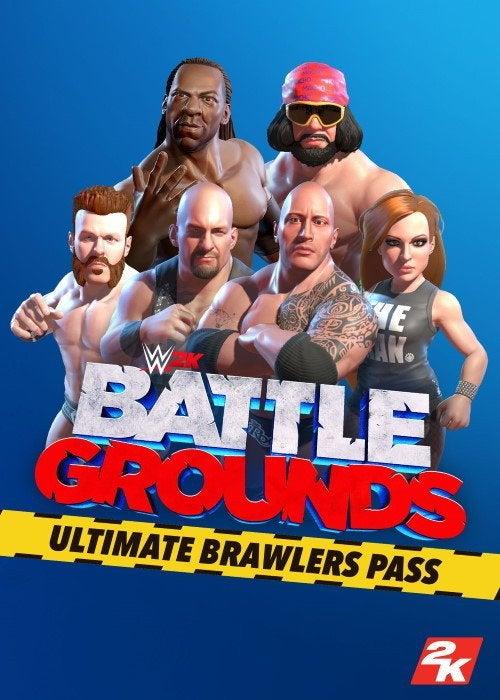 2K Games WWE 2K Battlegrounds Ultimate Brawlers Pass PC Game
