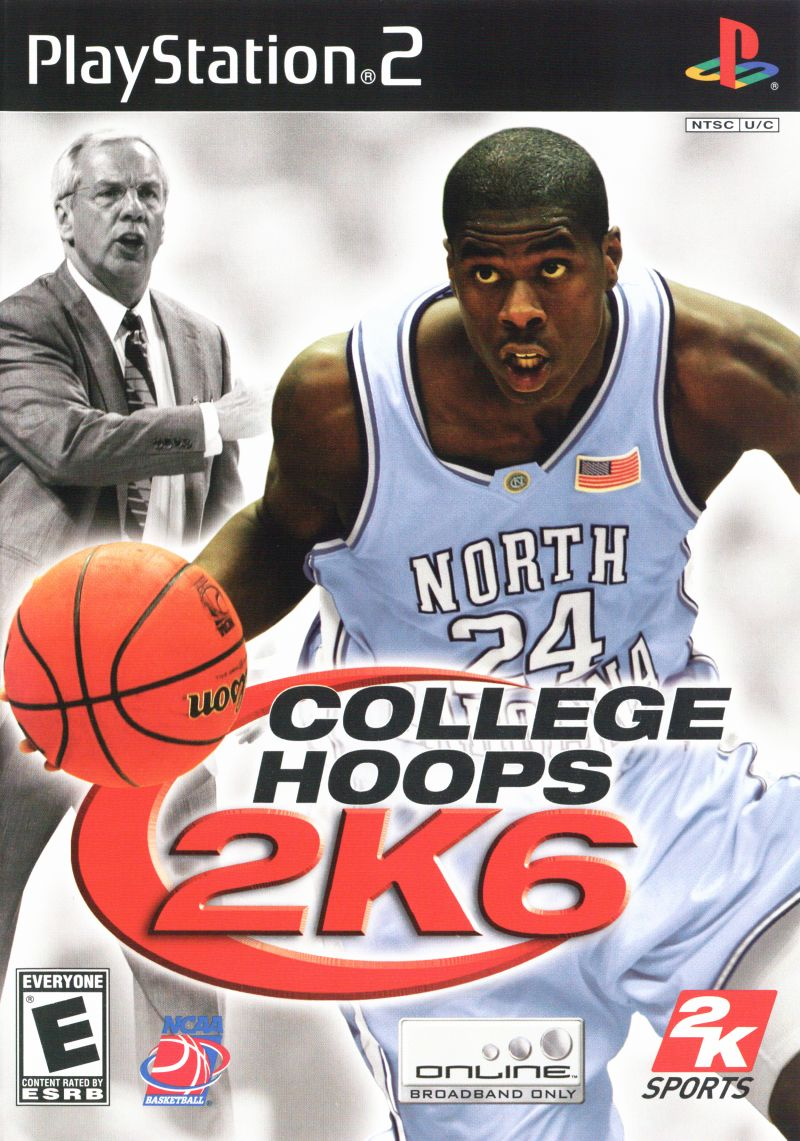 2K Sports College Hoops 2K6 PS2 Playstation 2 Game