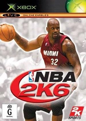 2K Sports NBA 2K6 Xbox Game