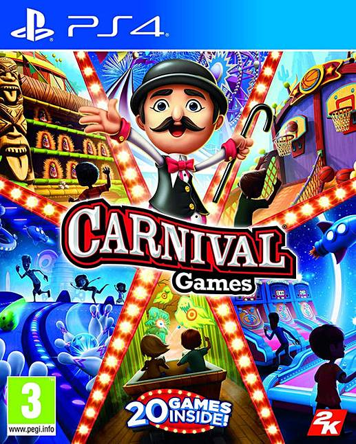 2k Games Carnival Games PS4 Playstation 4 Game
