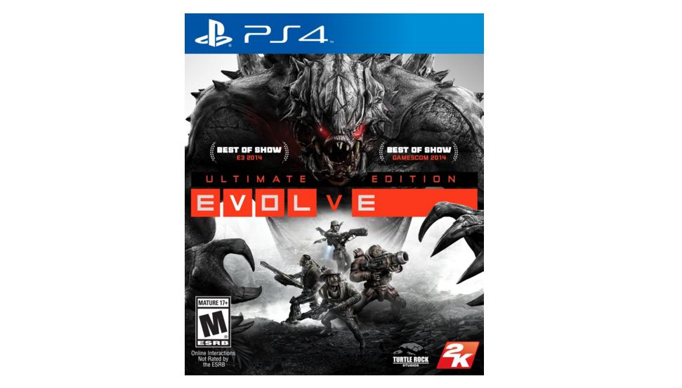 2k Games Evolve Ultimate Edition PS4 Playstation 4 Game