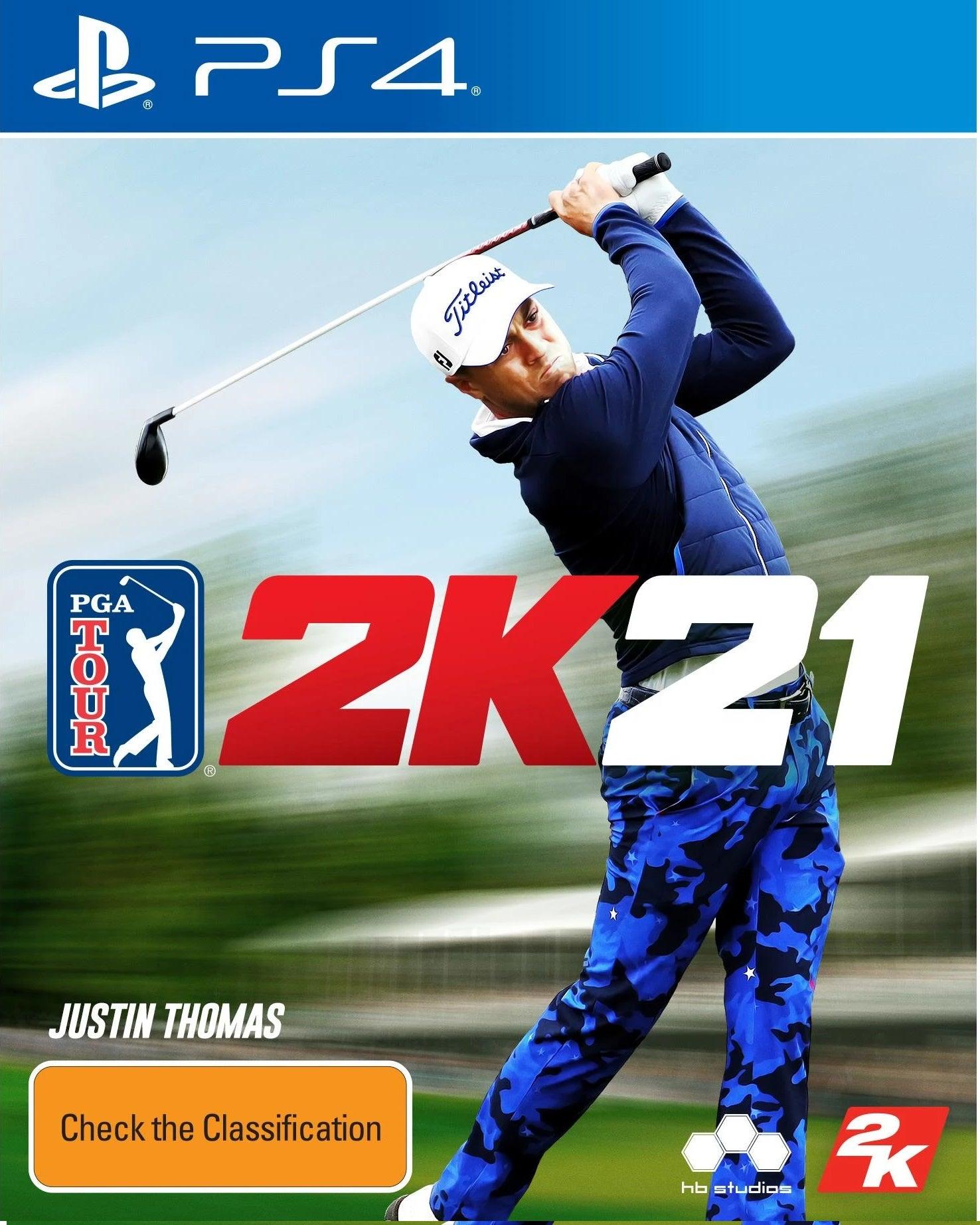 2k Games PGA Tour 2K21 PS4 Playstation 4 Game
