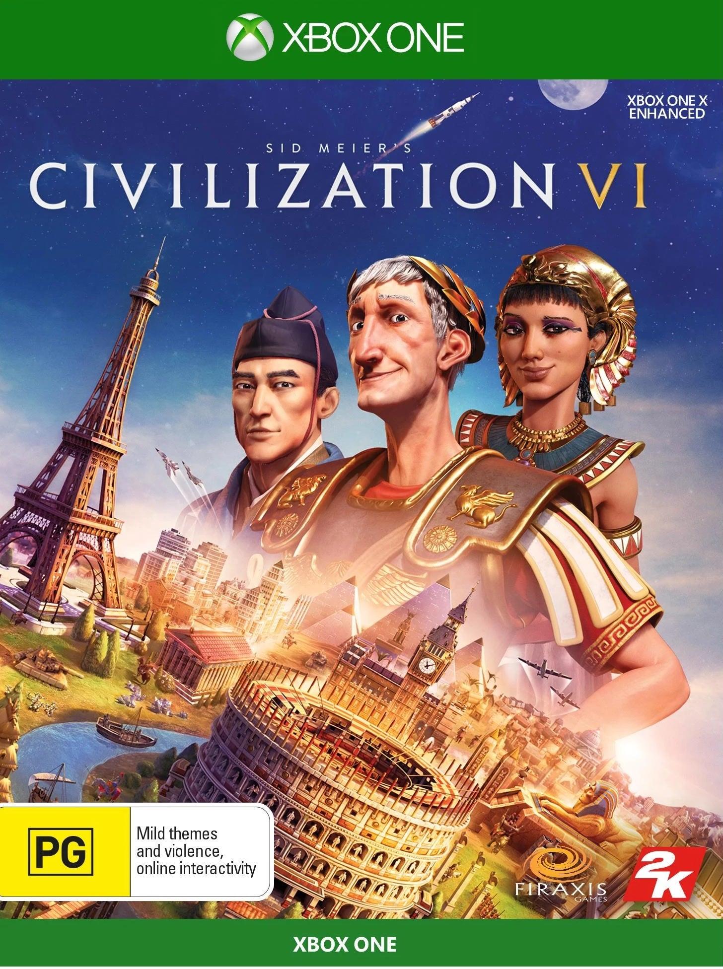 2k Games Sid Meiers Civilization VI Xbox One Game