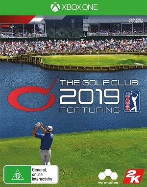 2k Games The Golf Club 2019 Featuring Xbox One Game