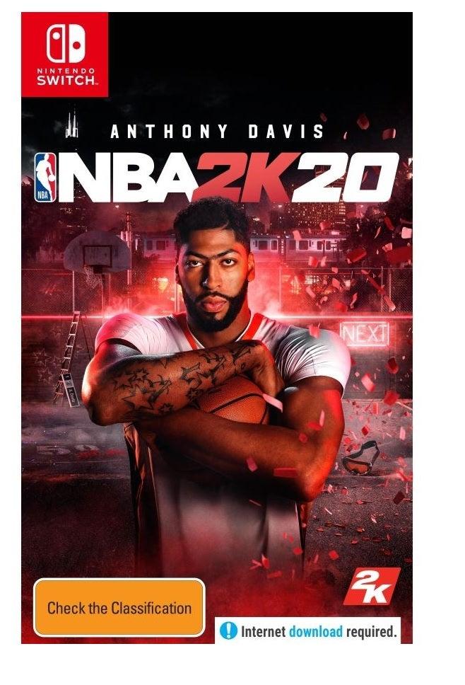 2k Sports NBA 2K20 Nintendo Switch Game