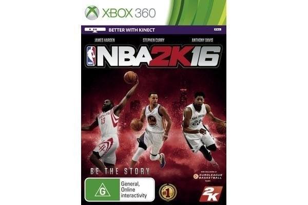 2k Sports NBA 2K16 Xbox 360 Game