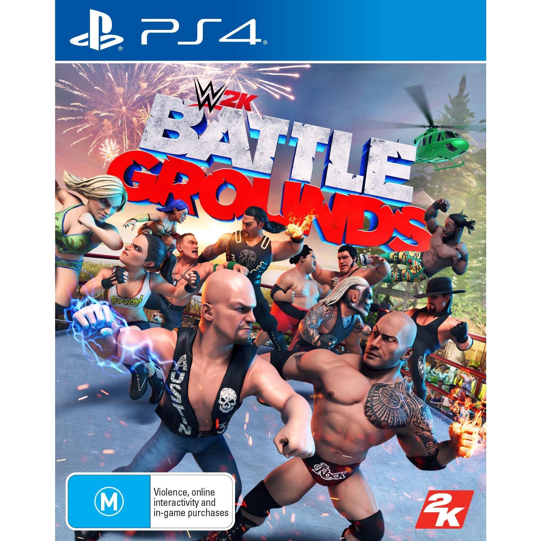 2k Sports WWE 2K Battlegrounds PS4 Playstation 4 Game