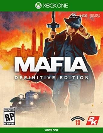 2k Games Mafia Definitive Edition Xbox One Game