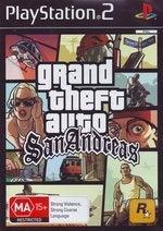 Rockstar Grand Theft Auto San Andreas PS2 Playstation 2 Game