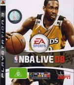 Electronic Arts NBA Live 2008 PS3 Playstation 3 Game