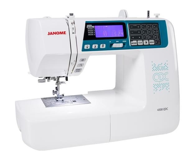 Janome 4300QDC Quilters Sewing Machine