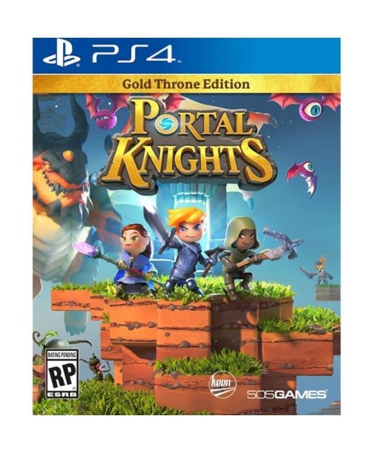 505 Games Portal Knights Gold Throne Edition PS4 Playstation 4 Game