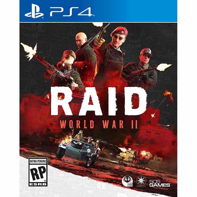 505 Games Raid World War II PS4 Playstation 4 Game