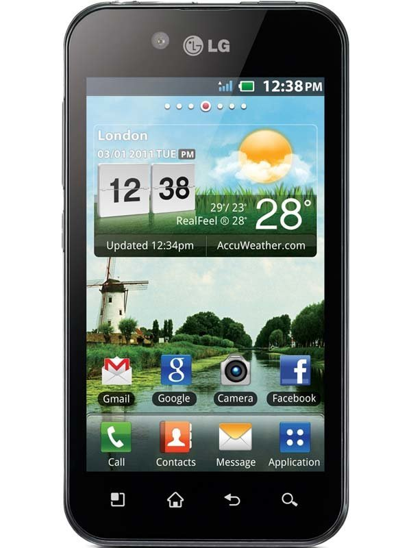 LG P990h Optimus 2X Mobile Cell Phone