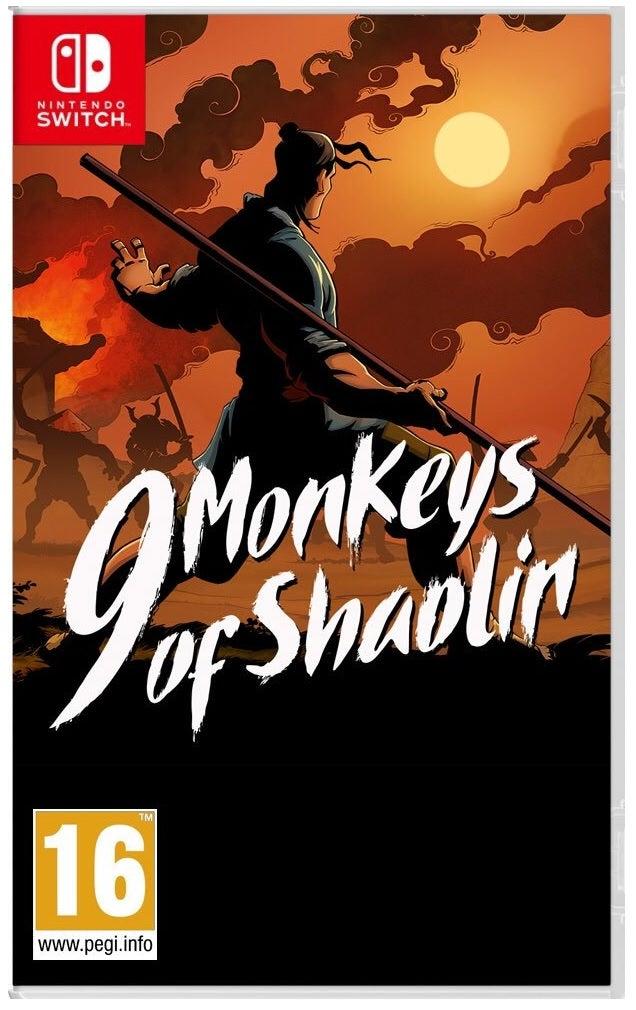 Buka Entertainment 9 Monkeys Of Shaolin Nintendo Switch Game