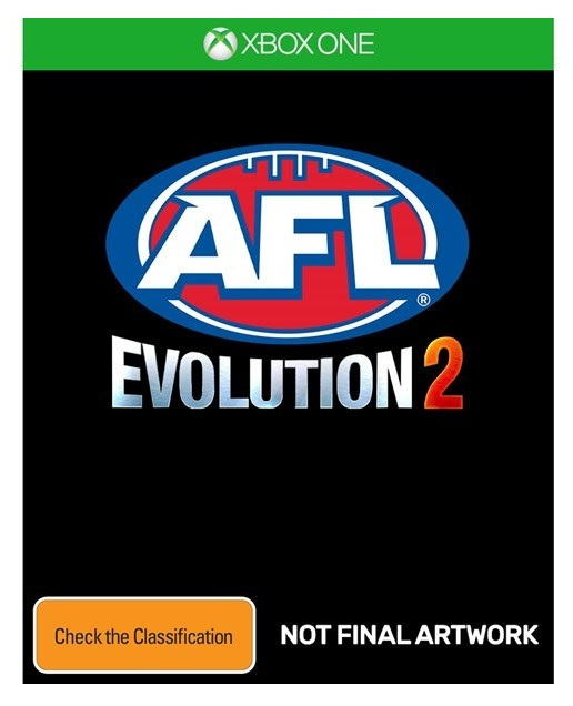 Tru blu entertainment AFL Evolution 2 Xbox One Game