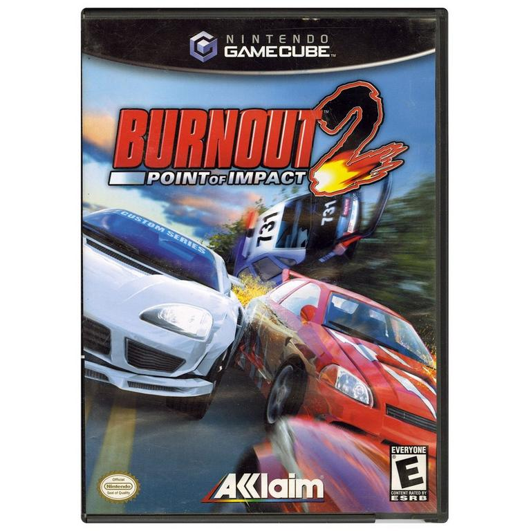 Acclaim Burnout 2 Point Of Impact GameCube Game
