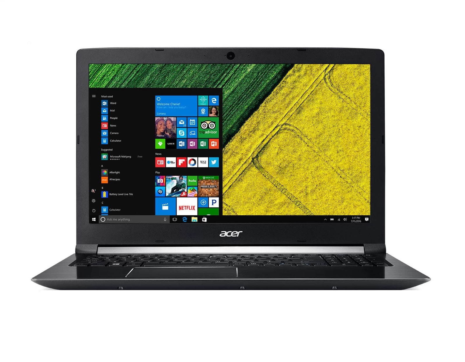 Acer Aspire 7 15 inch Laptop