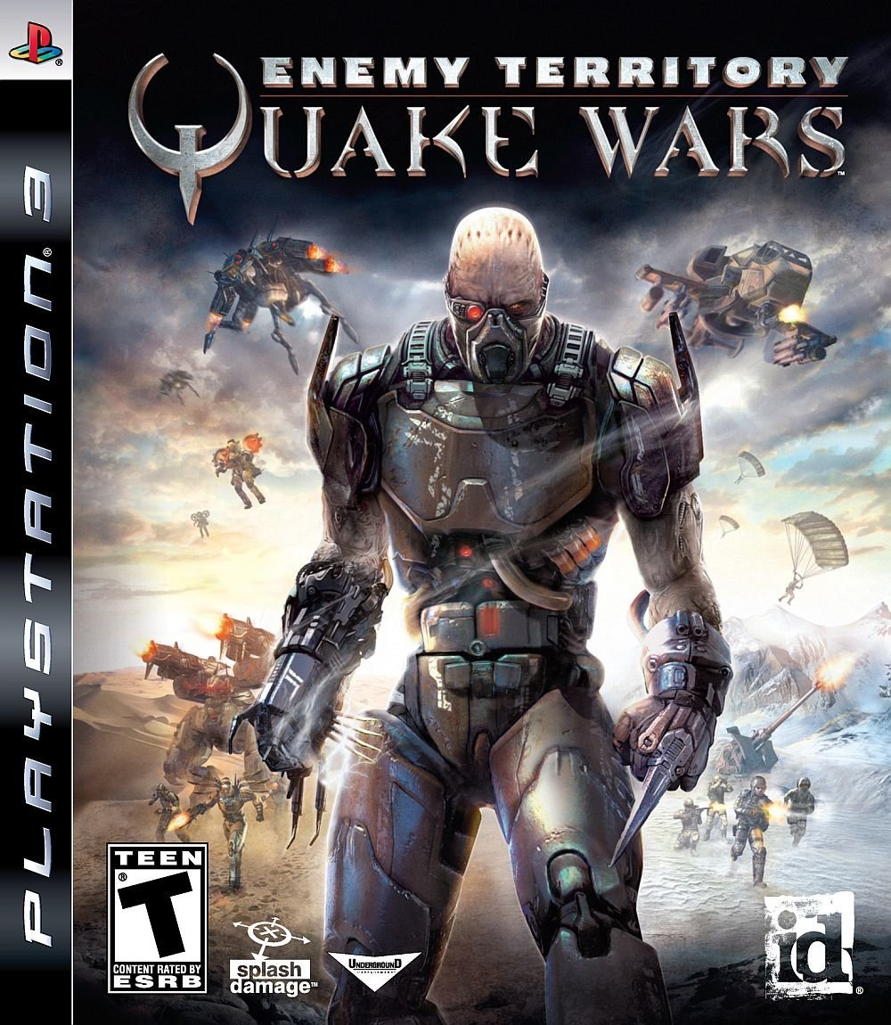 Activision Enemy Territory Quake Wars PS3 Playstation 3 Game