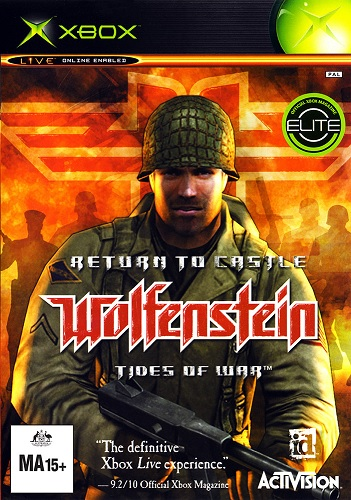 Activision Return To Castle Wolfenstein Tides Of War Refurbished Xbox Game