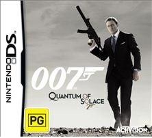 Activision 007 James Bond Quantum of Solace Nintendo DS Game