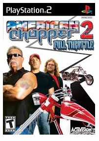 Activision American Chopper 2 Full Throttle PS2 Playstation 2 Game