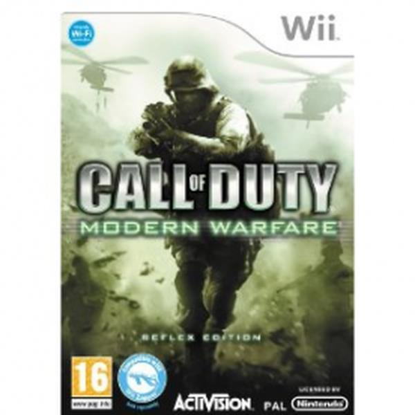 Activision Call Of Duty 4 Modern Warfare Reflex Edition Nintendo Wii Game