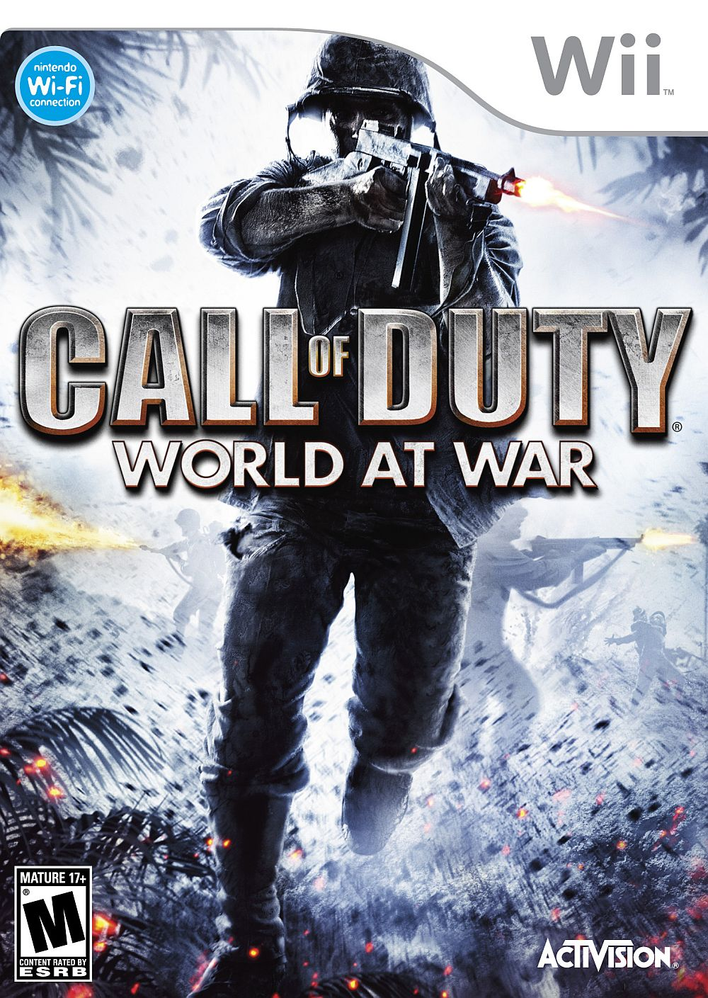 Activision Call Of Duty 5 World At War Nintendo Wii Game
