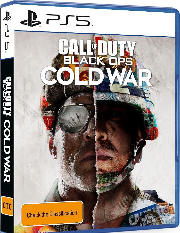 Activision Call of Duty Black Ops Cold War PS5 Playstation 5 Game