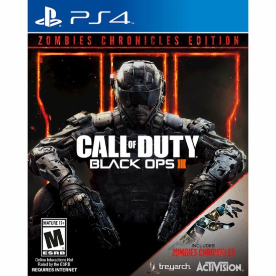 Activision Call of Duty Black Ops III Zombie Chronicles Edition PS4 Playstation 4 Game
