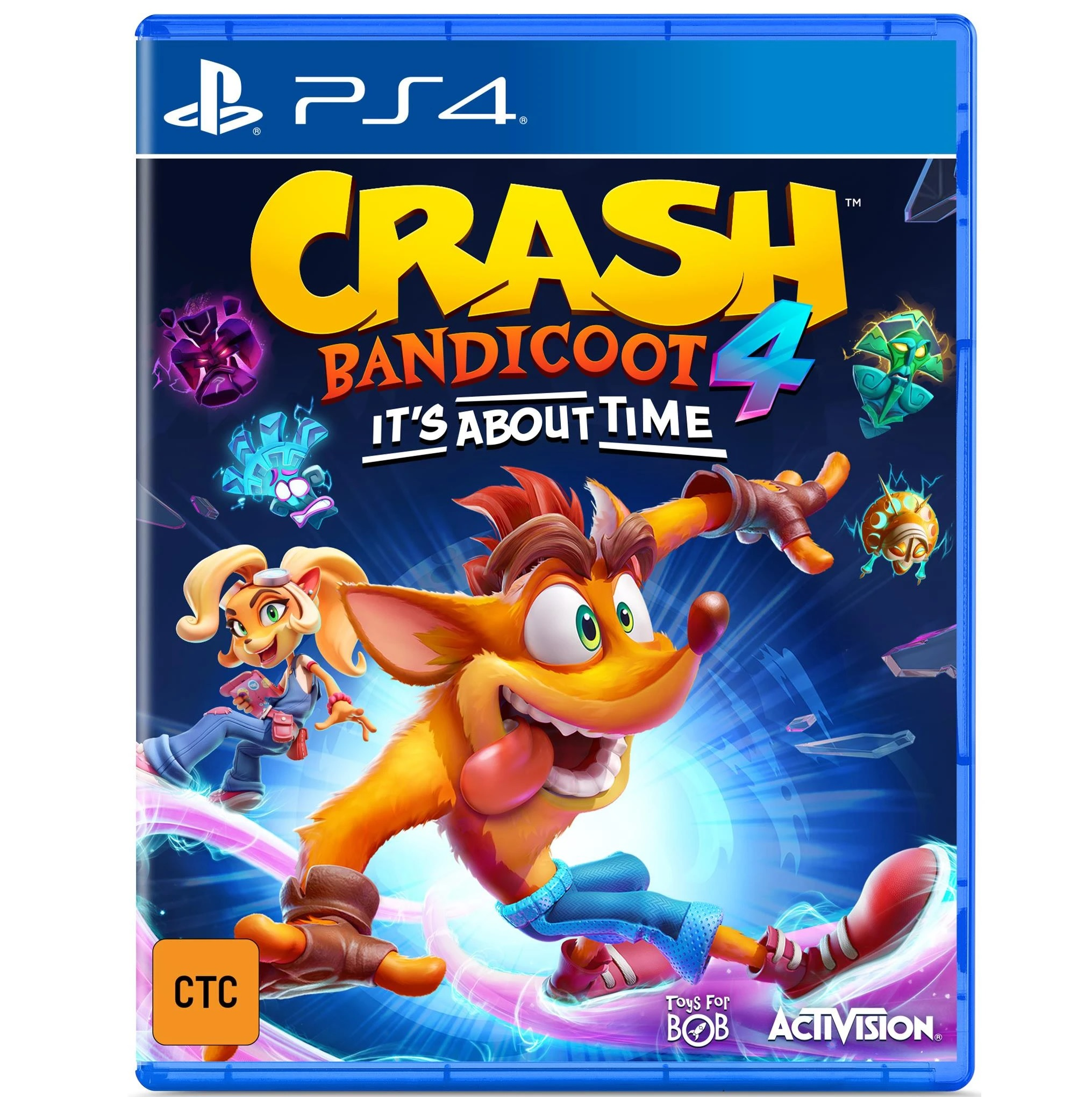 Activision Crash Bandicoot 4 Its About Time PS4 Playstation 4 Game