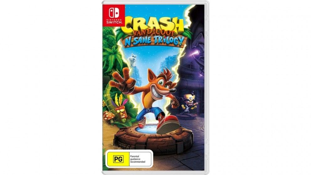 Activision Crash Bandicoot N Sane Trilogy Nintendo Switch Game
