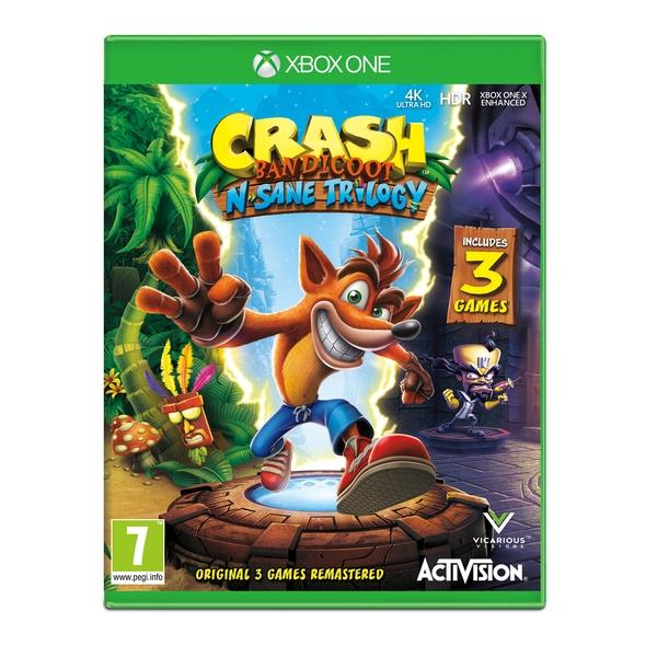 Activision Crash Bandicoot N Sane Trilogy Xbox One Game