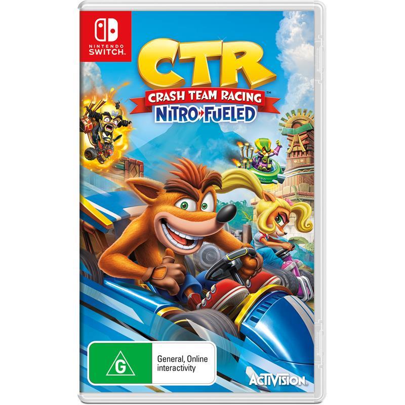 Activision Crash Team Racing Nitro Fueled Nintendo Switch Game