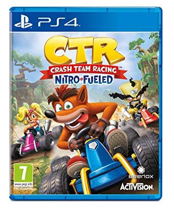 Activision Crash Team Racing Nitro Fueled PS4 Playstation 4 Game