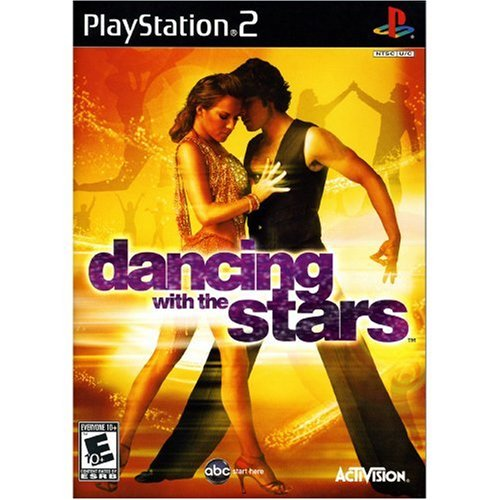 Activision Dancing With The Stars PS2 Playstation 2 Game