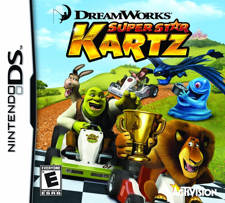 Activision Dreamworks Super Star Kartz Nintendo DS Game
