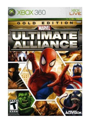 Activision Marvel Ultimate Alliance Gold Edition Xbox 360 Game