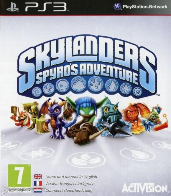Activision Skylanders Spyros Adventure PS3 Playstation 3 Game