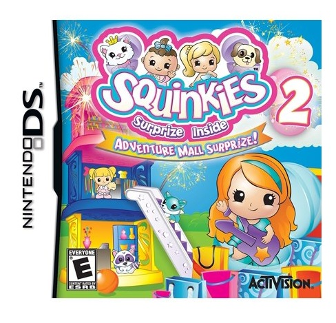 Activision Squinkies 2 Nintendo DS Game