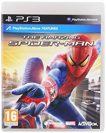 Activision The Amazing Spider Man PS3 Playstation 3 Game
