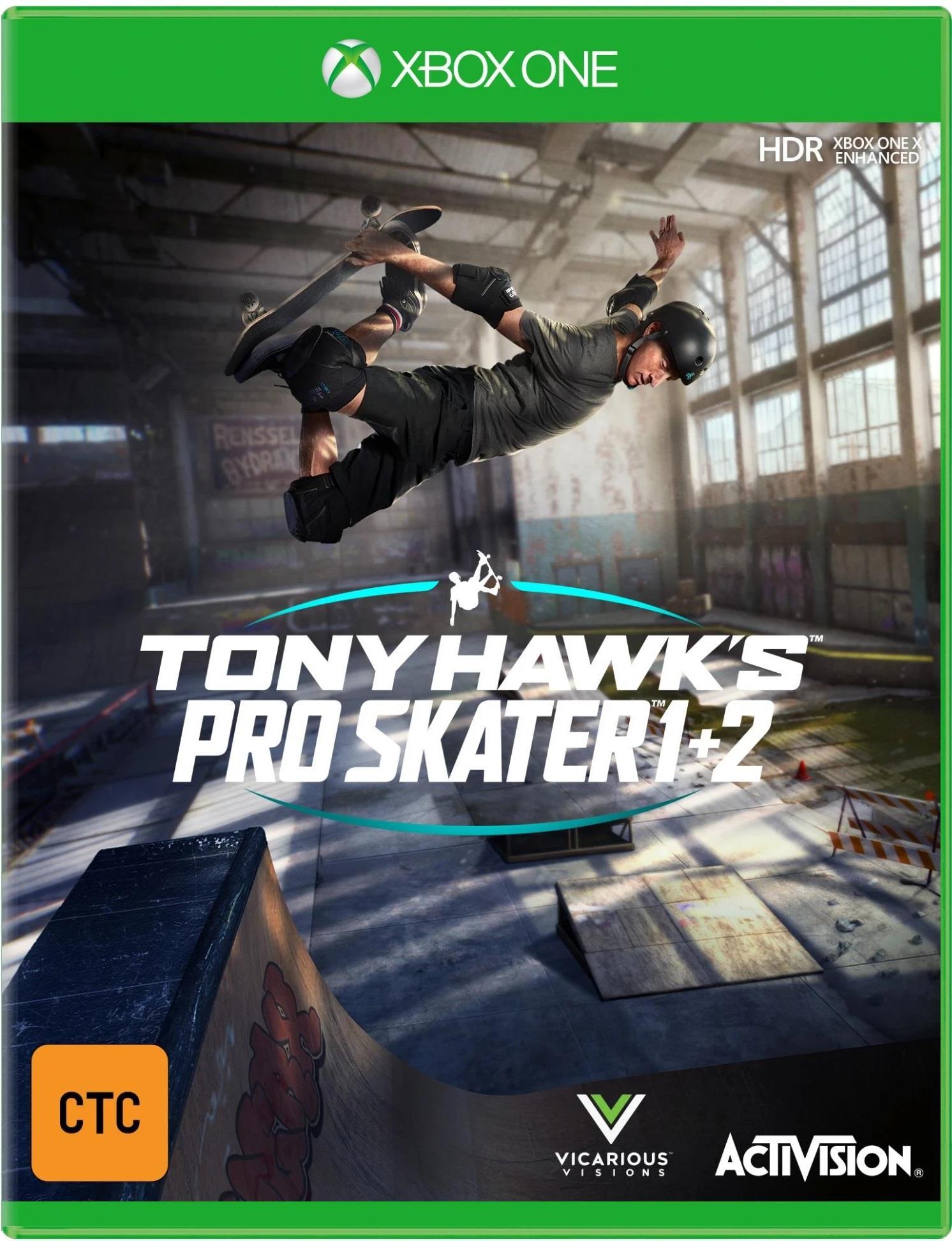 Activision Tony Hawks Pro Skater 1+2 Xbox One Game