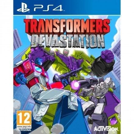 Activision Transformers Devastation PS4 Playstation 4 Game