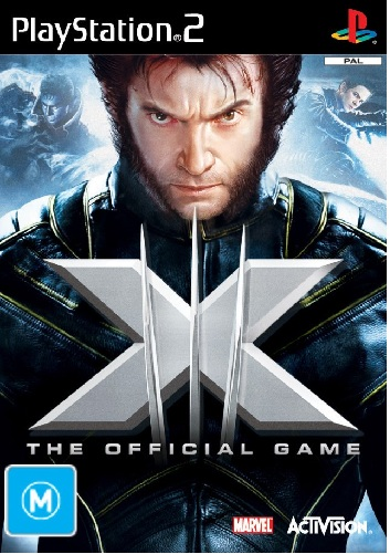 Activision XMen 3 The Official PS2 Playstation 2 Game