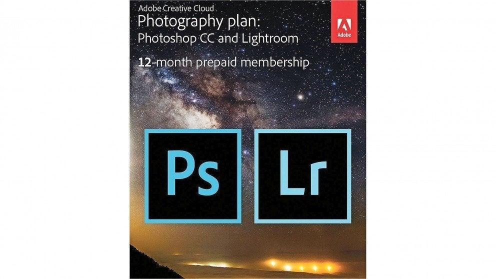 Adobe Creative Cloud Photography Plan Multimedia Software