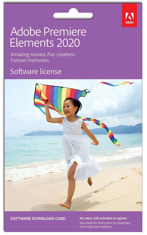 Adobe Premiere Elements 2020 Graphics Software