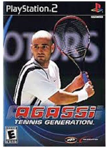 DreamCatcher Interactive Agassi Tennis Generation PS2 Playstation 2 Game