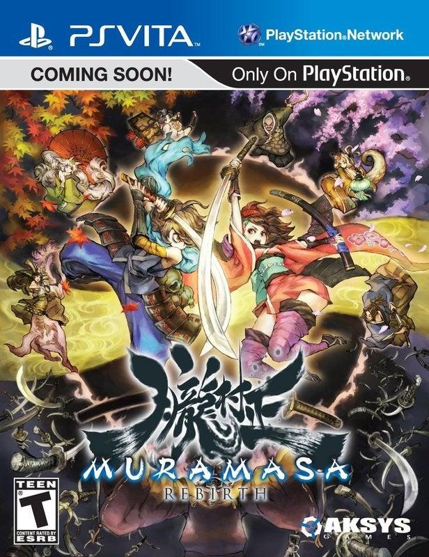 Aksys Games Muramasa Rebirth PS Vita Game