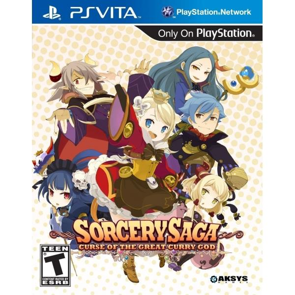 Aksys Games Sorcery Saga Curse Of The Great Curry God PS Vita Game