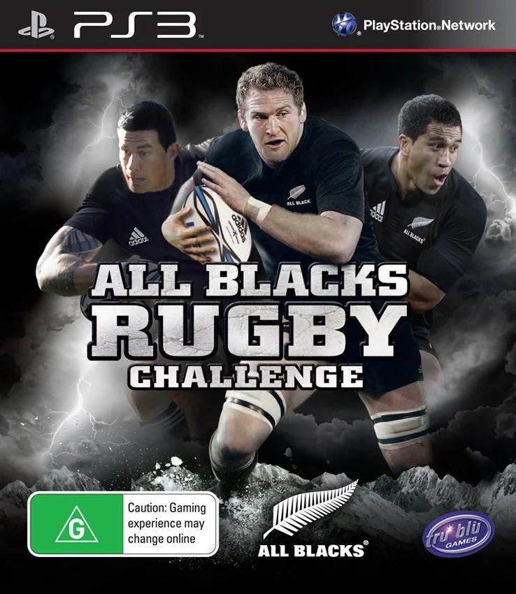 Tru Blu Entertainment All Blacks Rugby Challenge Refurbished PS3 Playstation 3 Game